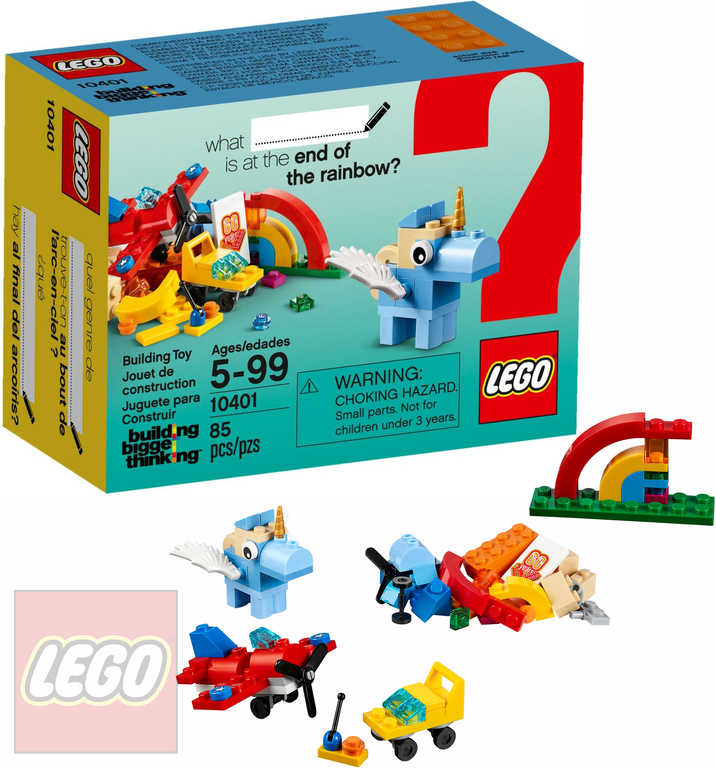 LEGO CLASSIC Duhová zábava 10401 STAVEBNICE