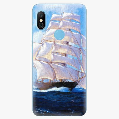 Plastový kryt iSaprio - Sailing Boat - Xiaomi Redmi Note 6 Pro