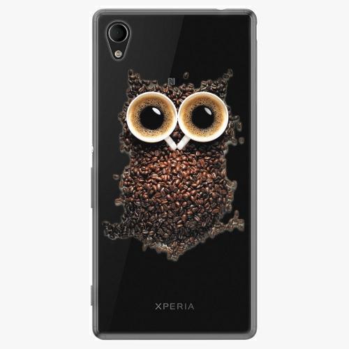 Plastový kryt iSaprio - Owl And Coffee - Sony Xperia M4