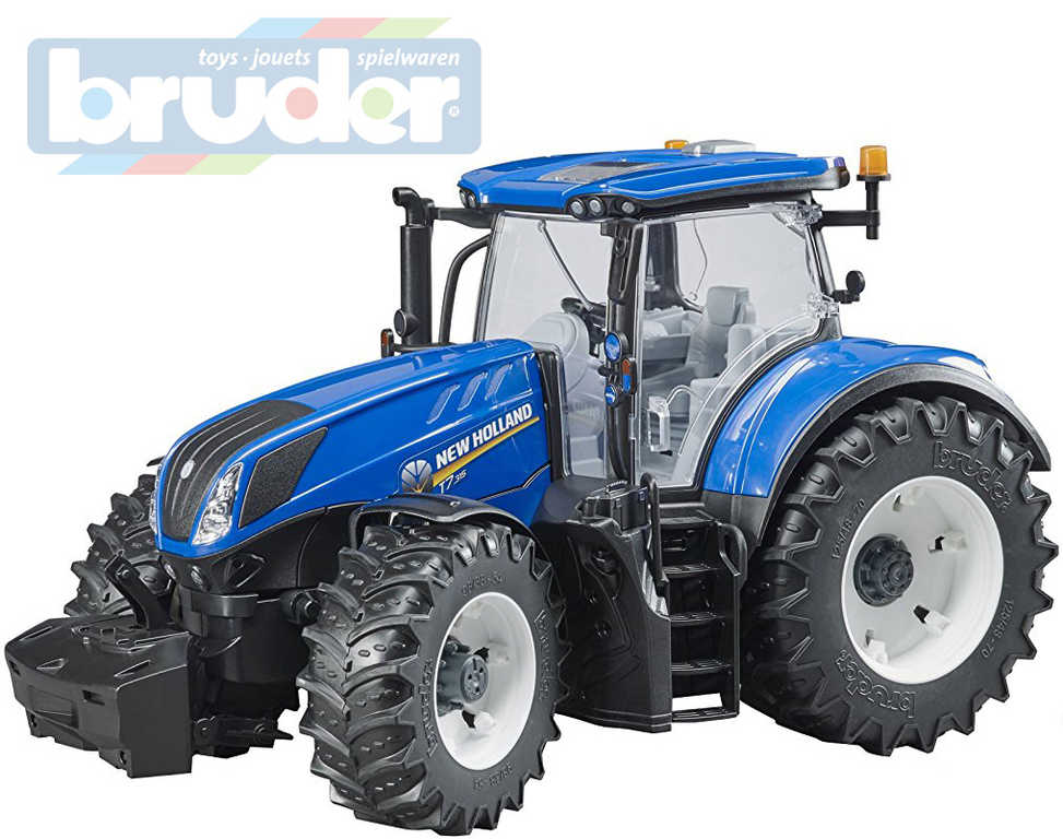 BRUDER 03120 Traktor New Holland T7.315 modrý model 1:16 plast