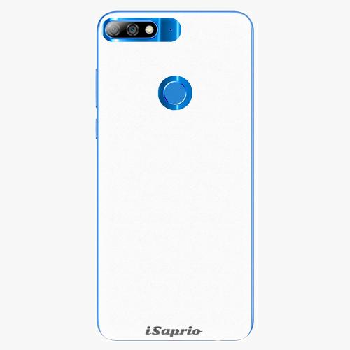 Silikonové pouzdro iSaprio - 4Pure - bílý - Huawei Y7 Prime 2018