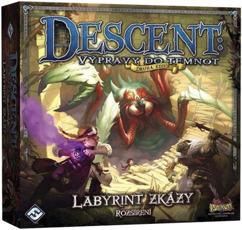 ADC Hra Descent druhá edice: Labyrint zkázy rozšíření *SPOLEČENSKÉ HRY*