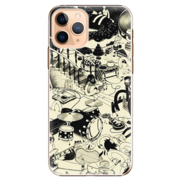 Plastové pouzdro iSaprio - Underground - iPhone 11 Pro