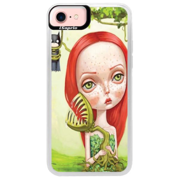 Neonové pouzdro Pink iSaprio - Poison - iPhone 7