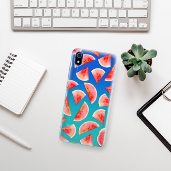 Odolné silikonové pouzdro iSaprio - Melon Pattern 02 - Xiaomi Redmi 7A