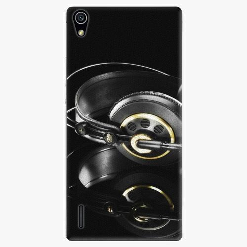 Plastový kryt iSaprio - Headphones 02 - Huawei Ascend P7