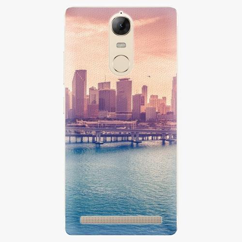 Plastový kryt iSaprio - Morning in a City - Lenovo K5 Note