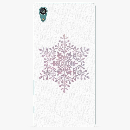 Plastový kryt iSaprio - Snow Flake - Sony Xperia Z5