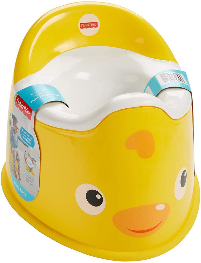 FISHER PRICE Baby dětský nočník dvojdílný kachnička plast