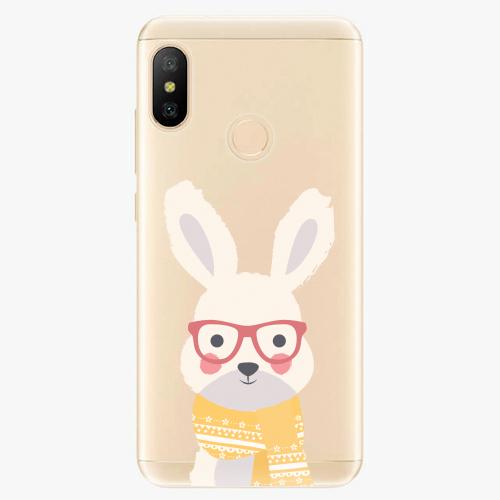 Silikonové pouzdro iSaprio - Smart Rabbit - Xiaomi Mi A2 Lite