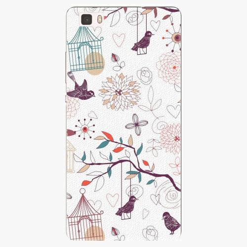 Plastový kryt iSaprio - Birds - Huawei Ascend P8 Lite