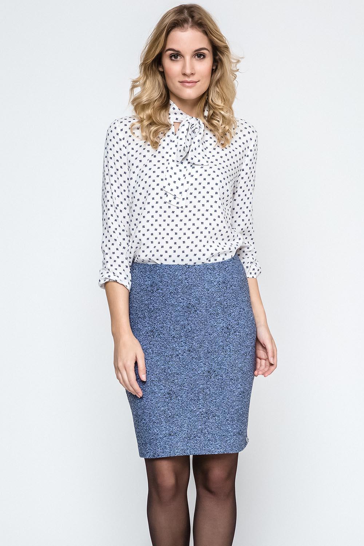 Dámská sukně Ennywear 240131 - Modrá