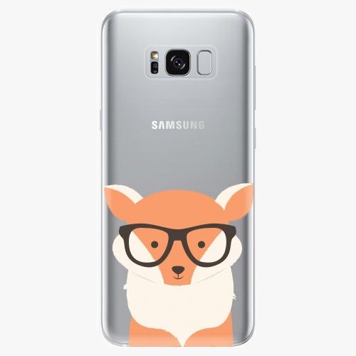 Silikonové pouzdro iSaprio - Orange Fox - Samsung Galaxy S8