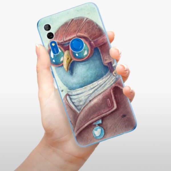Odolné silikonové pouzdro iSaprio - Pilot twitter - Huawei P Smart Z