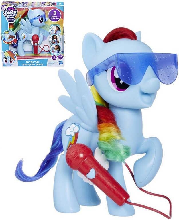 HASBRO MLP My Little Pony Zpívající Rainbow Dash koník na baterie
