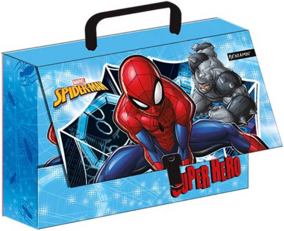Kufřík dětský dětský Spiderman 32x23x7cm klučičí