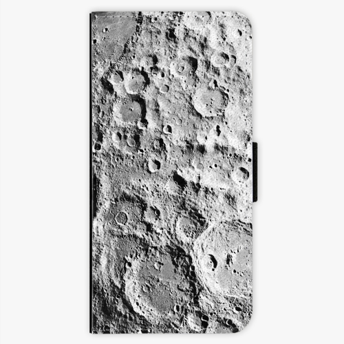 Flipové pouzdro iSaprio - Moon Surface - Samsung Galaxy S7 Edge
