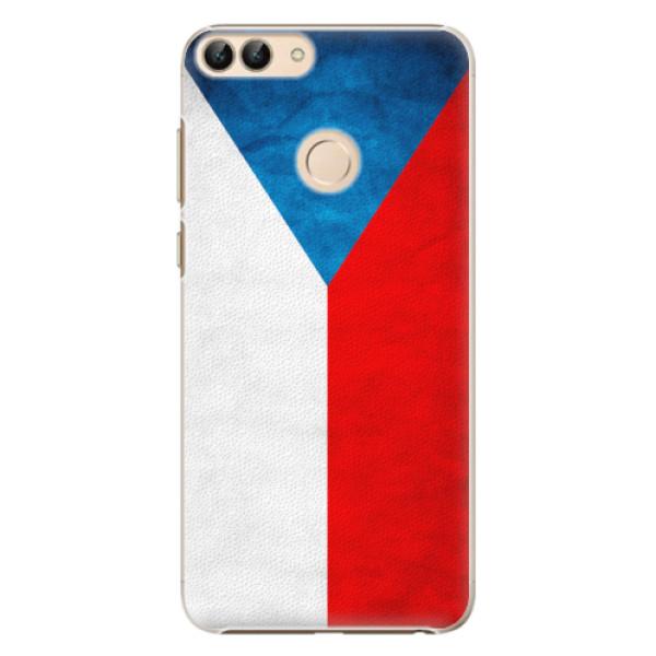 Plastové pouzdro iSaprio - Czech Flag - Huawei P Smart