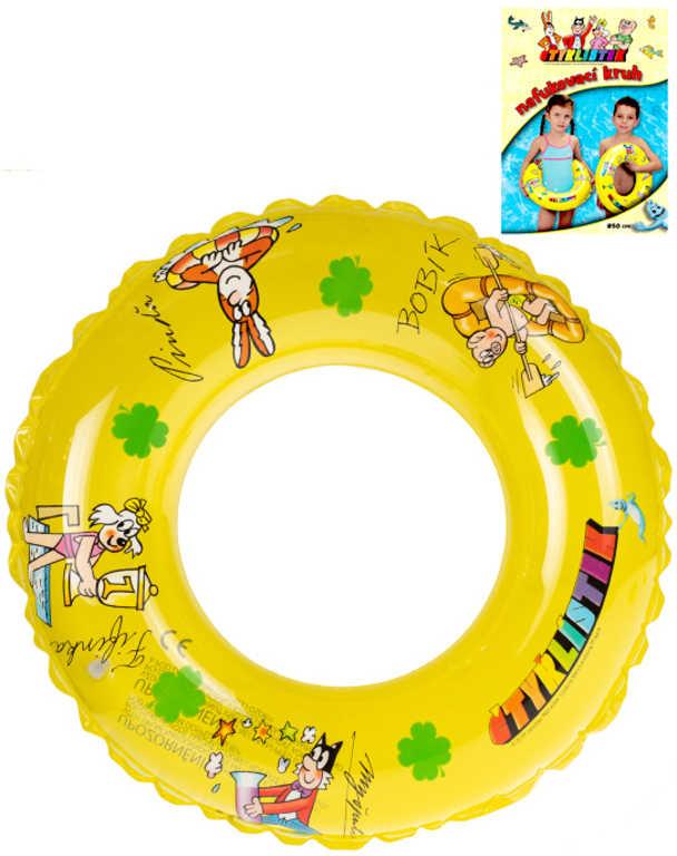 Kruh ČTYŘLÍSTEK 50 cm transparentní