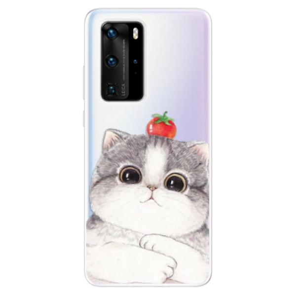 Odolné silikonové pouzdro iSaprio - Cat 03 - Huawei P40 Pro