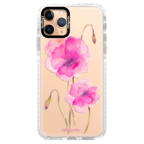 Silikonové pouzdro Bumper iSaprio - Poppies 02 - iPhone 11 Pro