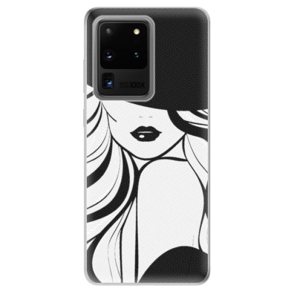 Odolné silikonové pouzdro iSaprio - First Lady - Samsung Galaxy S20 Ultra