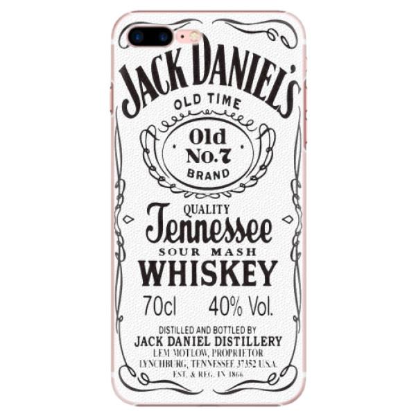 Plastové pouzdro iSaprio - Jack White - iPhone 7 Plus