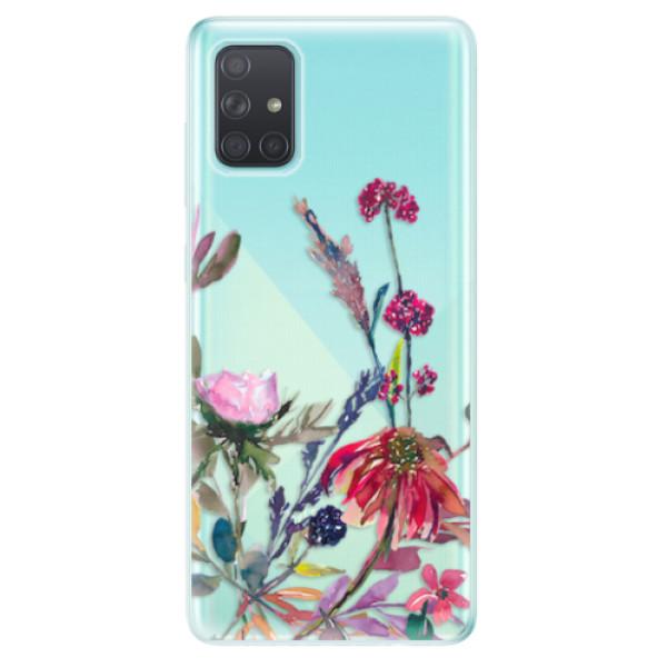 Odolné silikonové pouzdro iSaprio - Herbs 02 - Samsung Galaxy A71