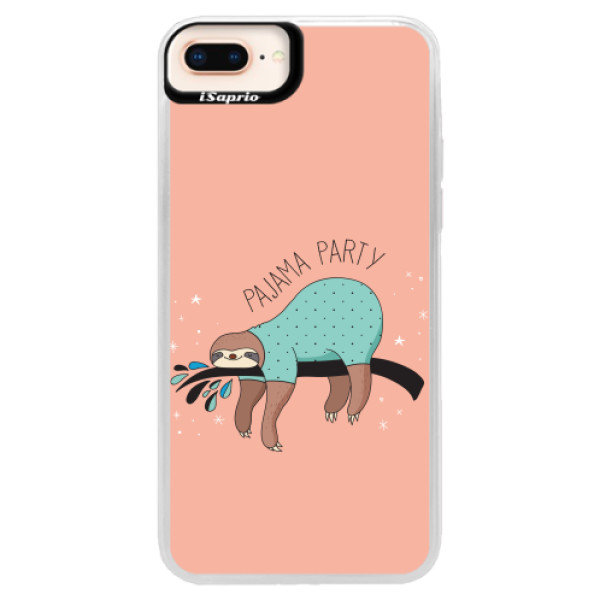 Neonové pouzdro Pink iSaprio - Pajama Party - iPhone 8 Plus