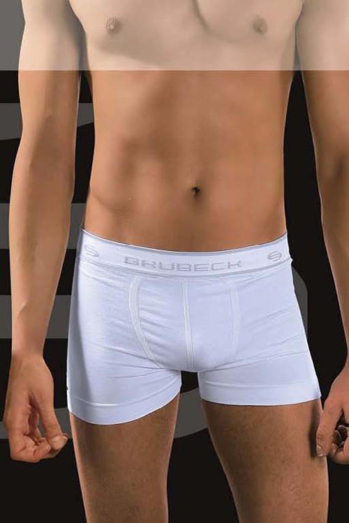 Pánské boxerky BX 00501 white - Bílá/S