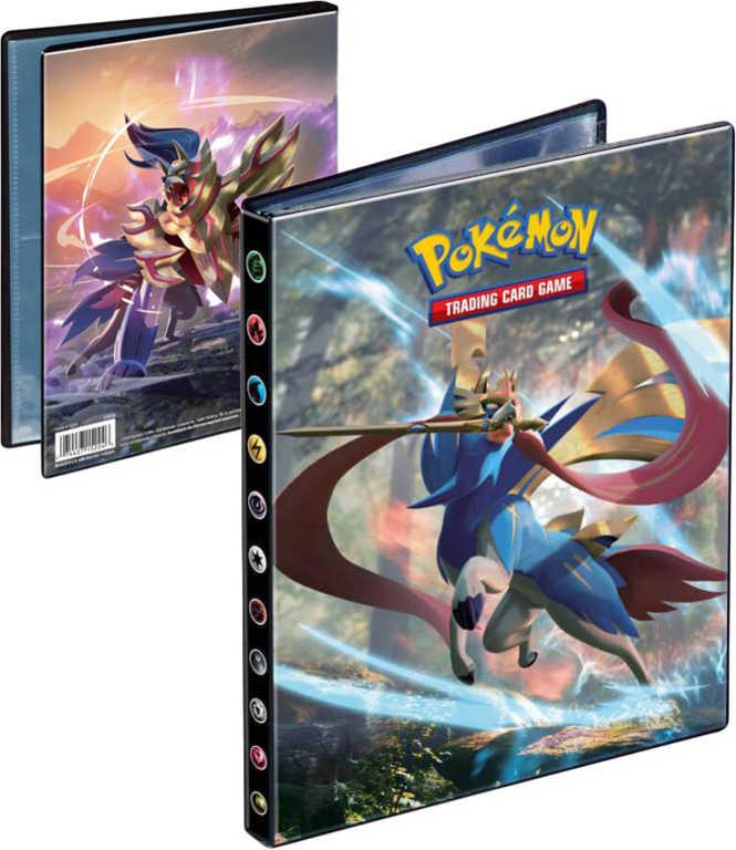 ADC Pokémon SWORD AND SHIELD Ultra Pro Album sběratelské A5 na 80 karet