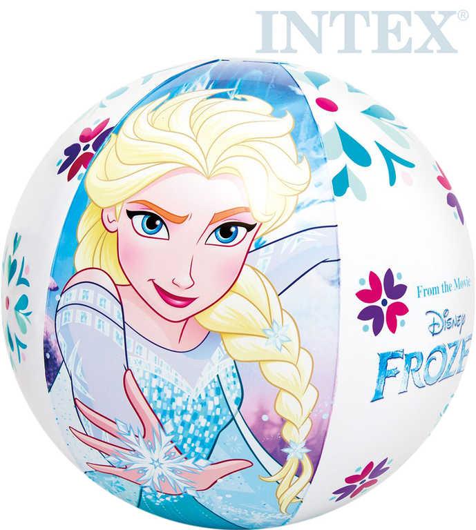 INTEX Míč dětský nafukovací 51cm Frozen (Ledové Království) plážový 58021