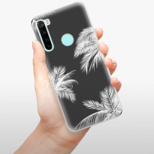 Odolné silikonové pouzdro iSaprio - White Palm - Xiaomi Redmi Note 8