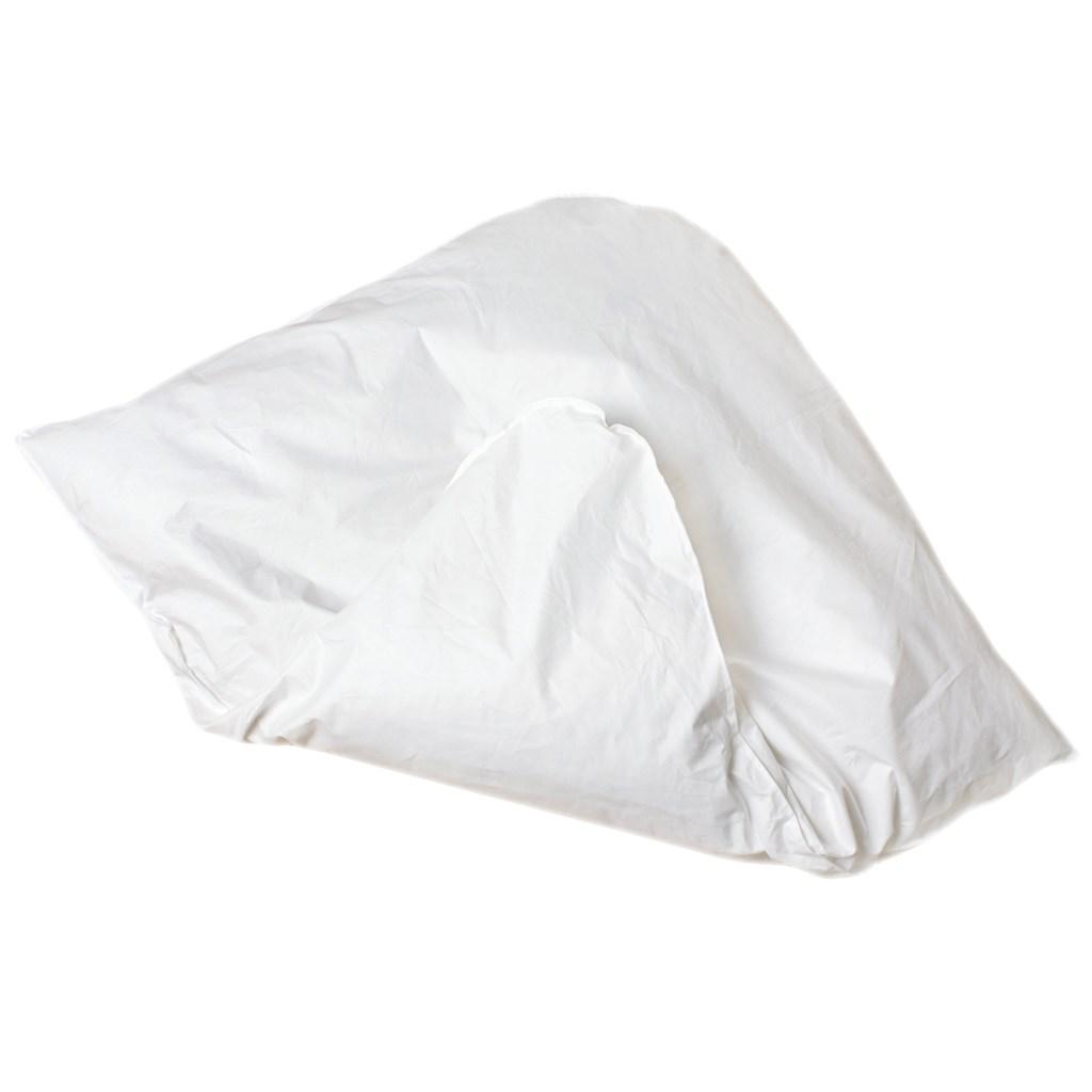 Péřová zavinovačka Dráček - péřová výplň 80x80 cm - bílá