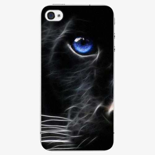 Plastový kryt iSaprio - Black Puma - iPhone 4/4S