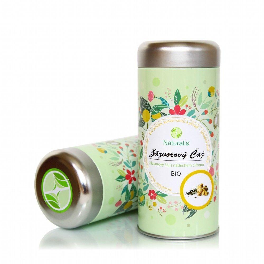 Zázvorový Čaj Naturalis BIO - 70g