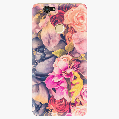 Plastový kryt iSaprio - Beauty Flowers - Huawei Nova