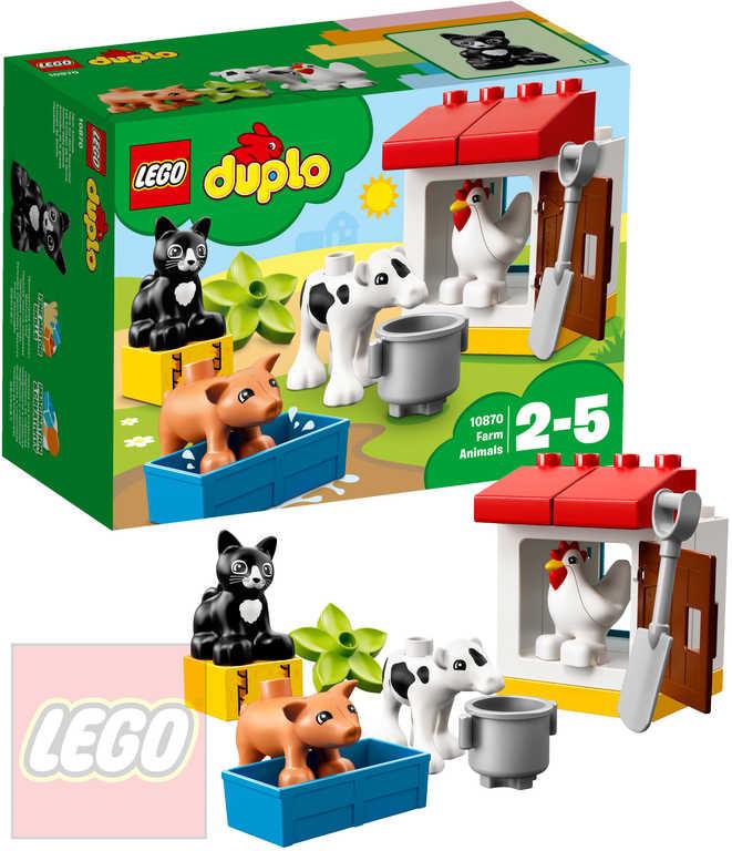 LEGO DUPLO Zvířátka z farmy STAVEBNICE 10870