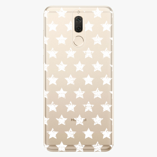 Plastový kryt iSaprio - Stars Pattern - white - Huawei Mate 10 Lite