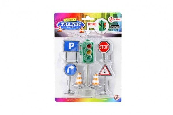 Semafor + dopravní značky, 12 - cm