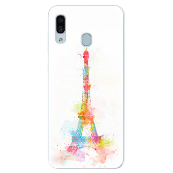 Silikonové pouzdro iSaprio - Eiffel Tower - Samsung Galaxy A30
