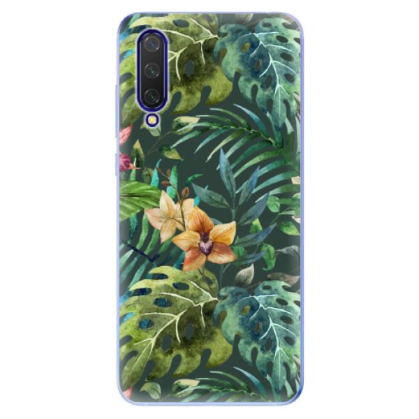 Odolné silikonové pouzdro iSaprio - Tropical Green 02 - Xiaomi Mi 9 Lite