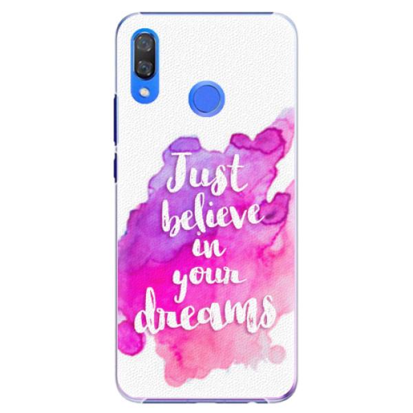 Plastové pouzdro iSaprio - Believe - Huawei Y9 2019