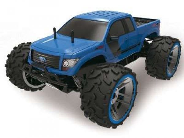 Ford F-150 monster truck 1:8 2.4Ghz MODRÝ