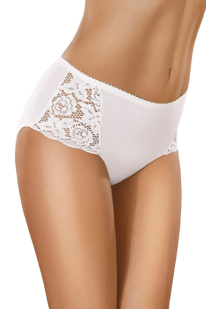 Dámské kalhotky GABIDAR 029 bílé - XXL