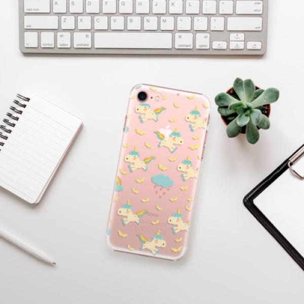 Plastové pouzdro iSaprio - Unicorn pattern 01 - iPhone 7