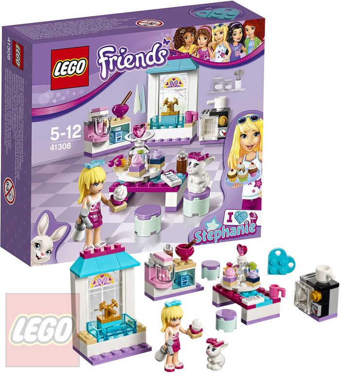 LEGO FRIENDS Stephanie a její cukrárna 41308 STAVEBNICE