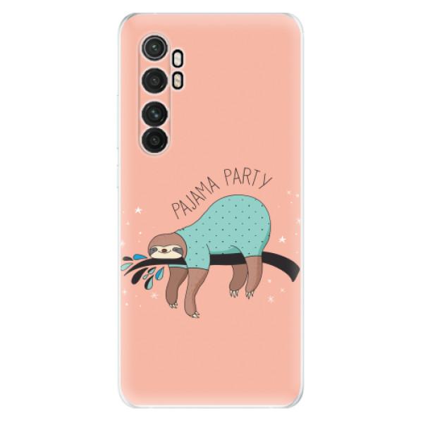 Odolné silikonové pouzdro iSaprio - Pajama Party - Xiaomi Mi Note 10 Lite