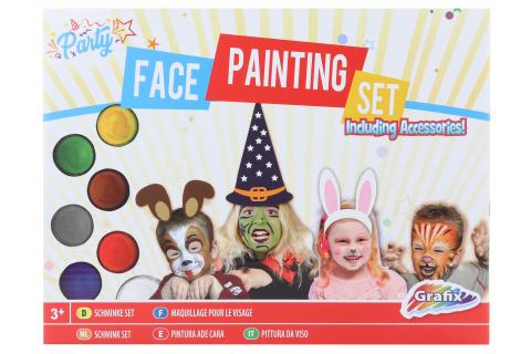 Malování na obličej s příslušenstvím