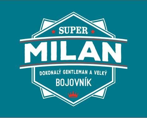 Plechové hrnky - Plecháček - Milan
